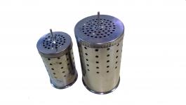 Дополнительный стакан для дымаря D-95мм, H-155мм, н/ж