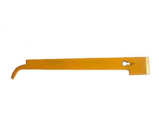 Стамеска – гвоздодер  - козья  ножка  крашенная (желтая)