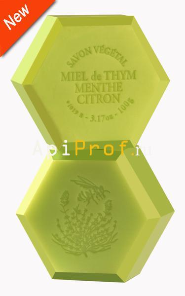 Мыло Мята-лимон, с запахом вербены-лимон