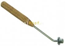 Каток с деревянной ручкой